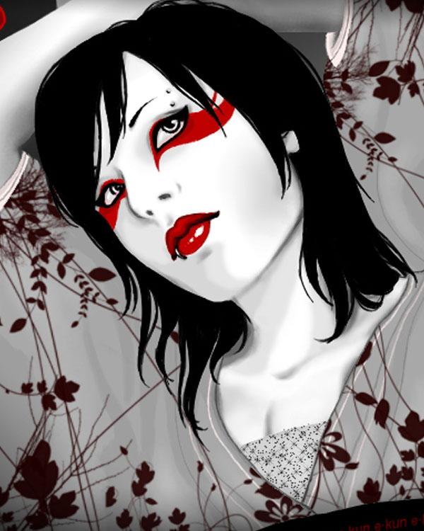 Geisha by e-kun07yukino
