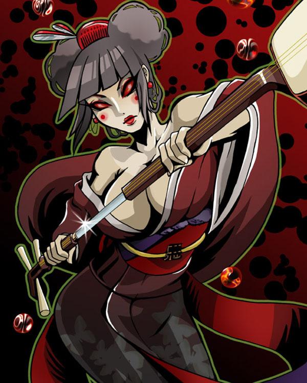 Evil Geisha by lychee-soda