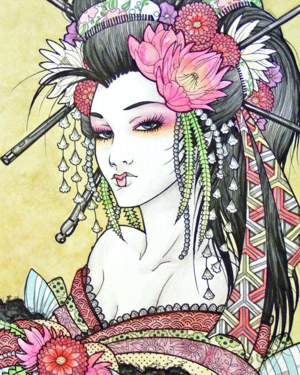 Geisha by Paimonerra