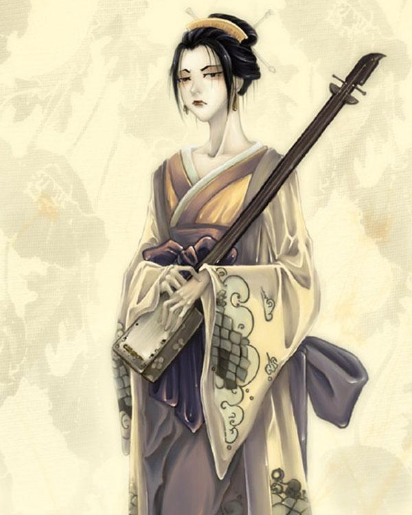 :: Geisha Jin :: by orin
