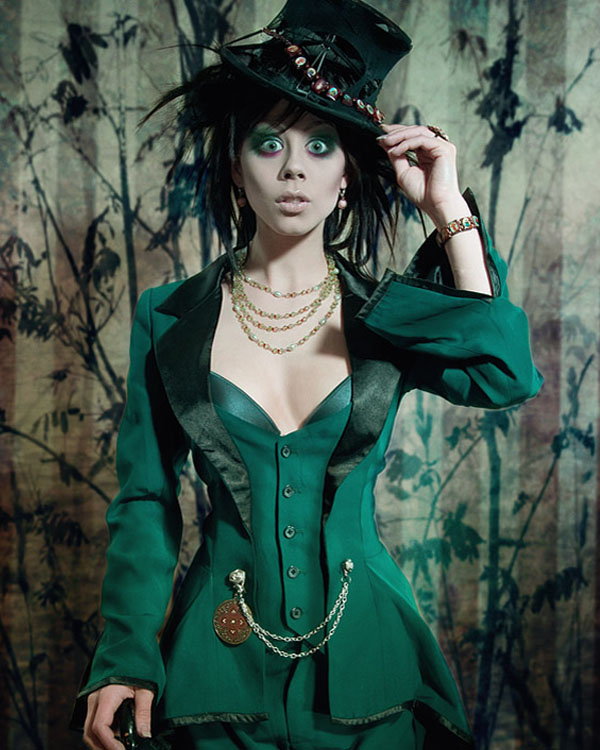 The portrait: Mad Hatter by Ophelias-Overdose