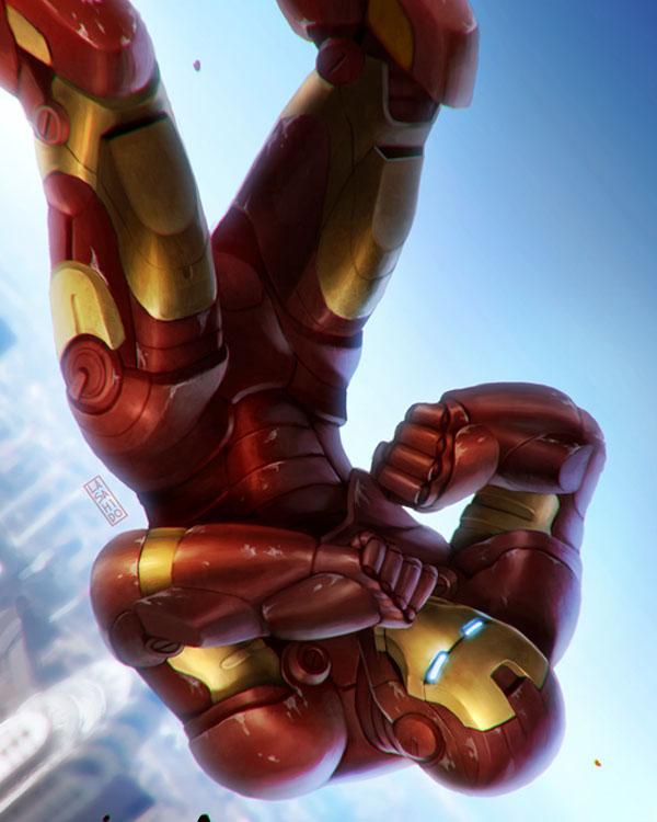 Ironman by LASAHIDO