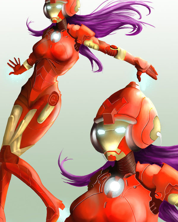 Pepper as Ironman : IronPepper by onipetsu