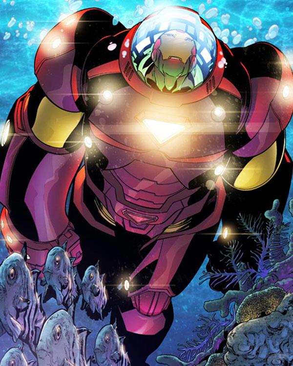 Marvel Adventures Ironman 5 by Aburto