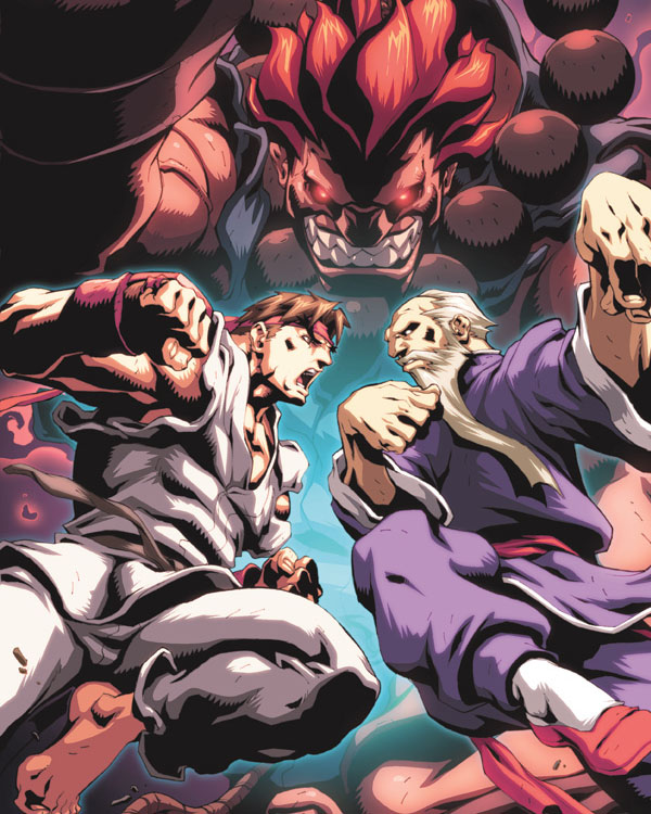 Street Fighter II 4 Cover by Alvin Lee & Espen Grundetjern