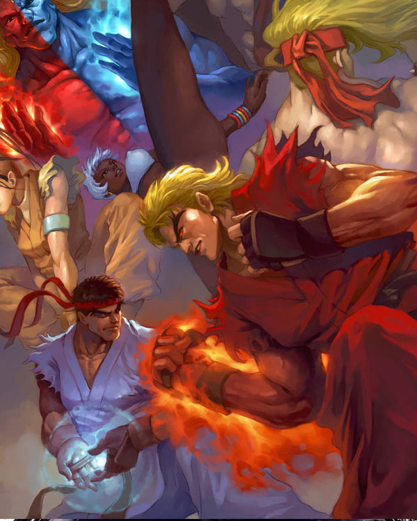 street fighter tribute by maskedriderkc