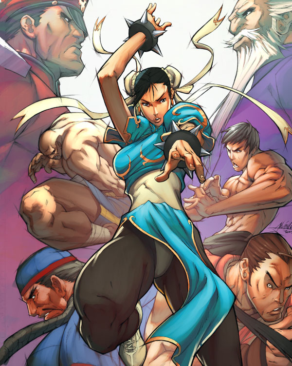 Street Fighter: ChunLi Legends by deffectx