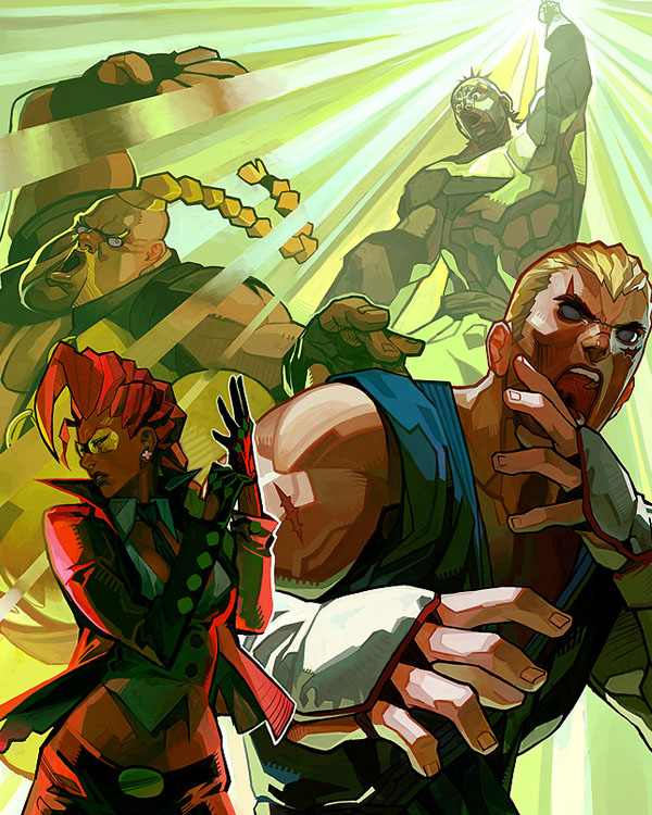 Street Fighter IV 1 by Arnold Tsang