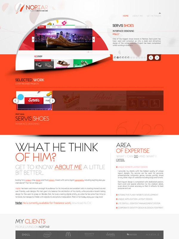 noptar Flash Website by ebugz