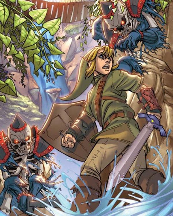 Zelda Commission by RyanStegman