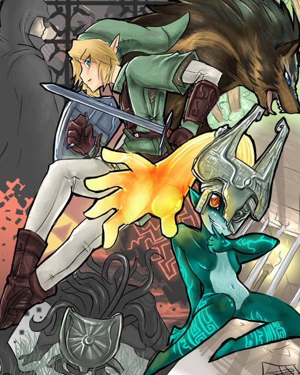 Zelda : Twilight Princess by syberfox