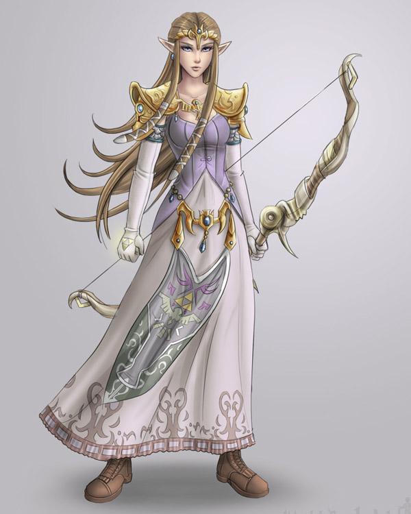 Zelda by Mattbachnick