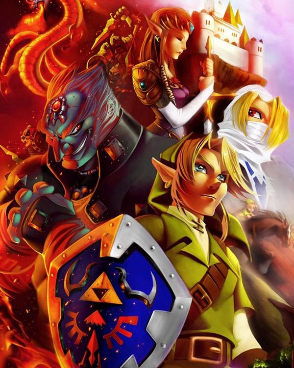 Zelda . colors by greatLP