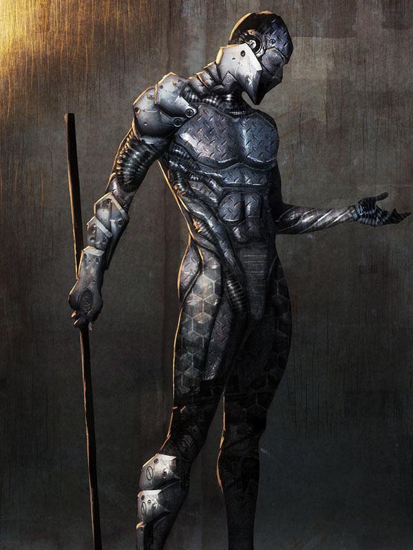 metal ninja by anjinanhut