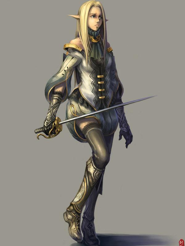 Fantasy Character 02 by ichitakaseto