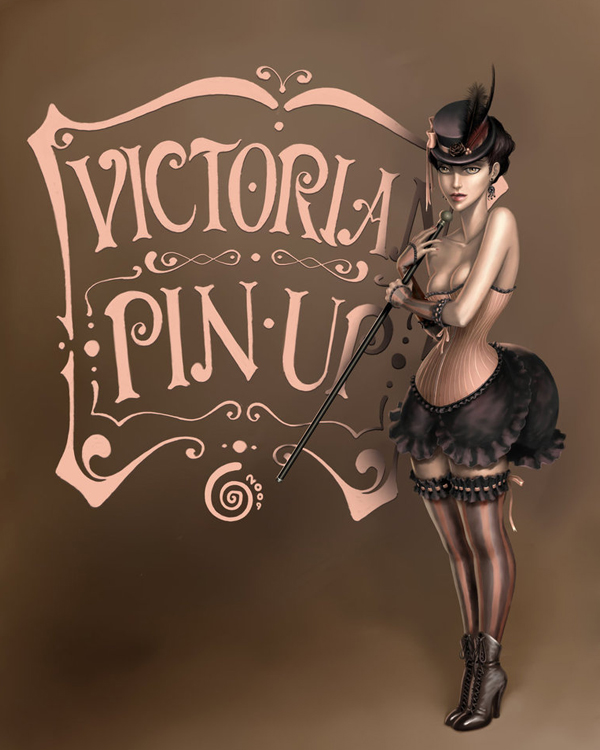 Victorian Pin Up by UndineCG
