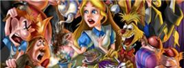 Art Work of Alice in Wonderland