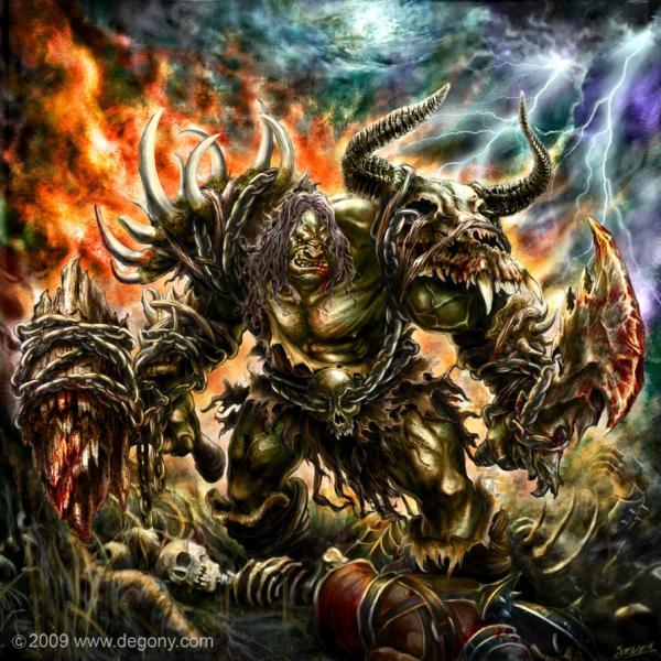 Orcs Warriors Fan Art in World of Warcraft - nenuno creative