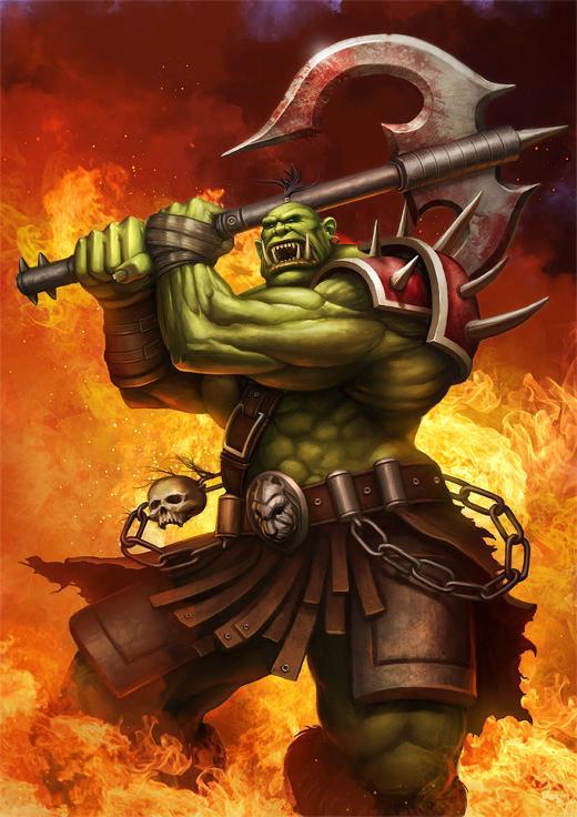 Orcs Warriors Fan Art In World Of Warcraft Nenuno Creative