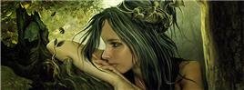 Glamorous Digital Art Portraits by Elena Dudina