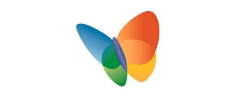 logo msn messenger:
