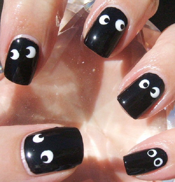 Black and White Nail Art 18