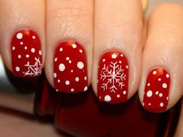 Red Nail Art Designs 10