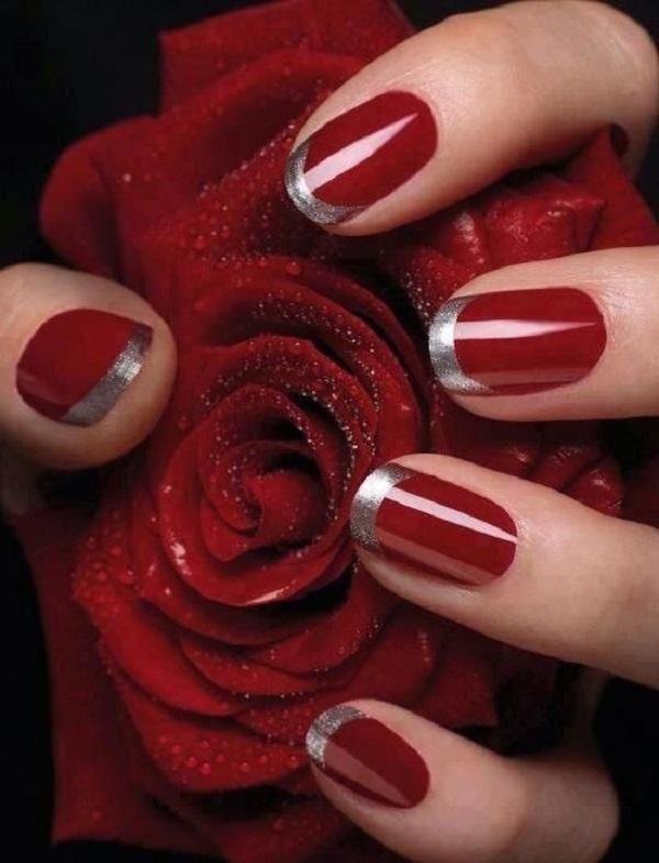 Red Nail Art Designs 11