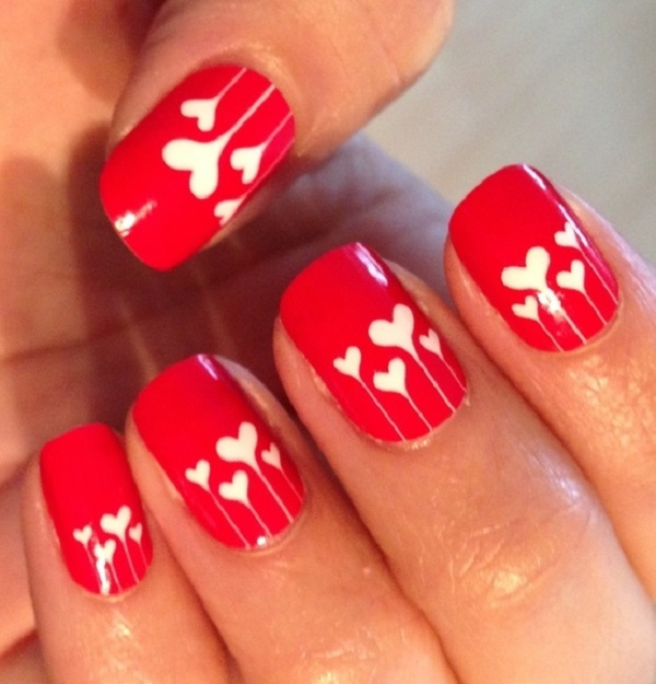 Red Nail Art Designs 18 - 55 Hottest Red Nail Art Ideas <3 - 55 Hottest Red Nail Art Ideas - Nenuno Creative