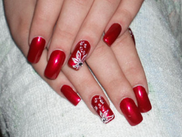 red nail art designs 20 55 hottest red nail art ideas