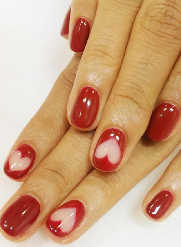 Red Nail Art Designs 8