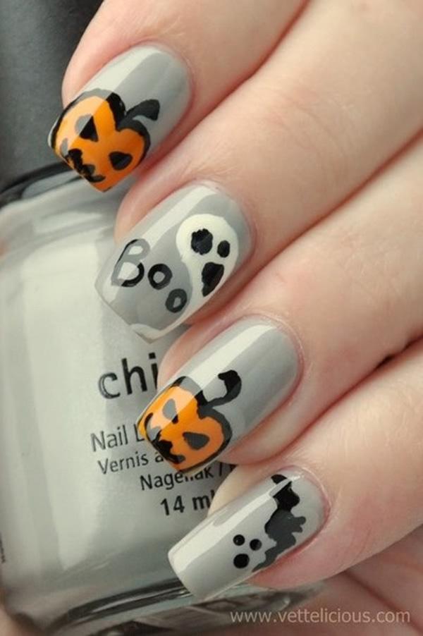 Halloween nail art-10