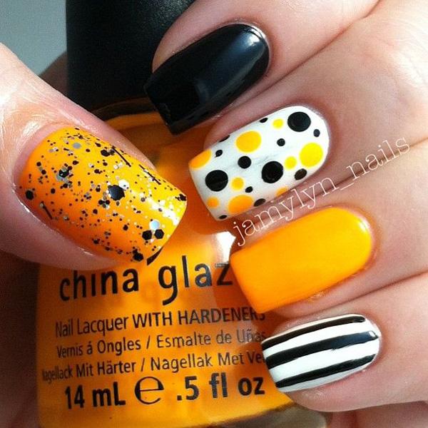 Halloween nail art-11