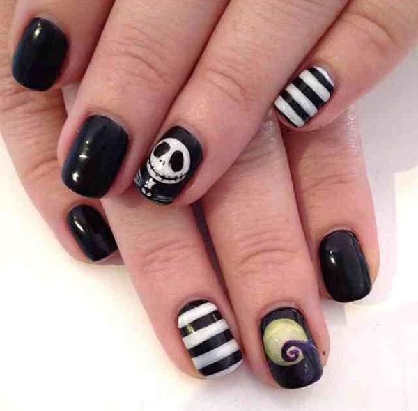 Halloween nail art-12