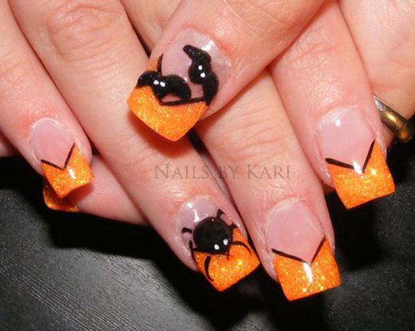 Halloween nail art-14