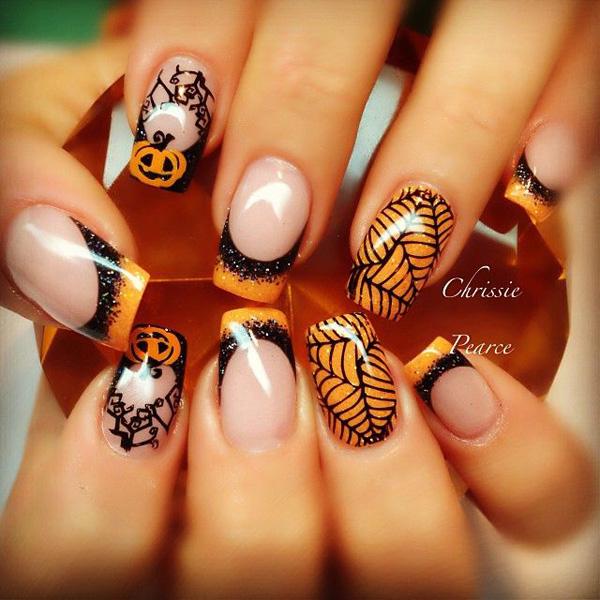 Halloween nail art-20