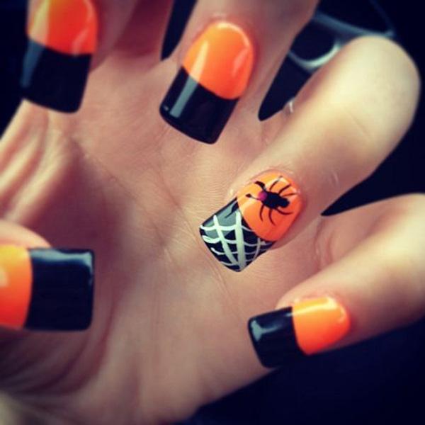 Halloween nail art-5