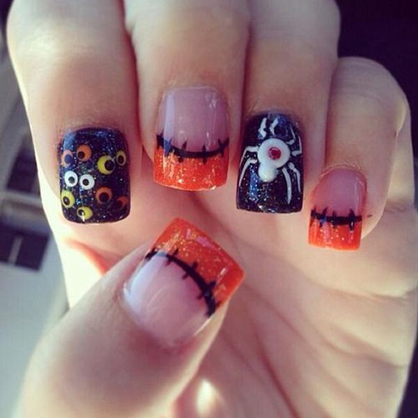 Halloween nail art-6