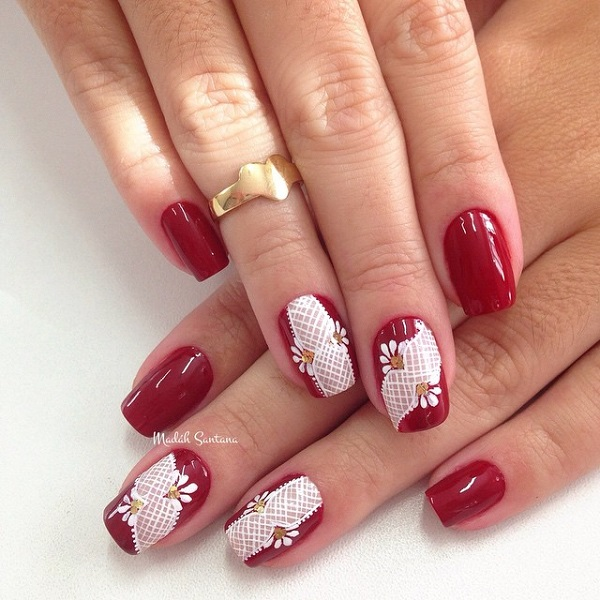 55 Hottest Red Nail Art Ideas - nenuno creative