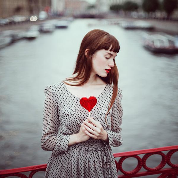 a Valentine by anka zhuravleva