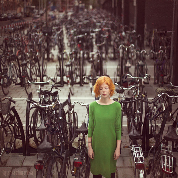 bicycle dream by anka zhuravleva