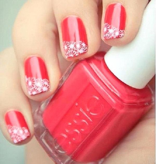 lace nail art 1