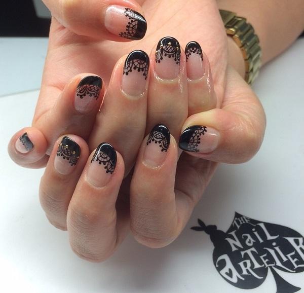 lace nail art 10