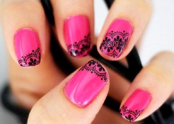 lace nail art 12