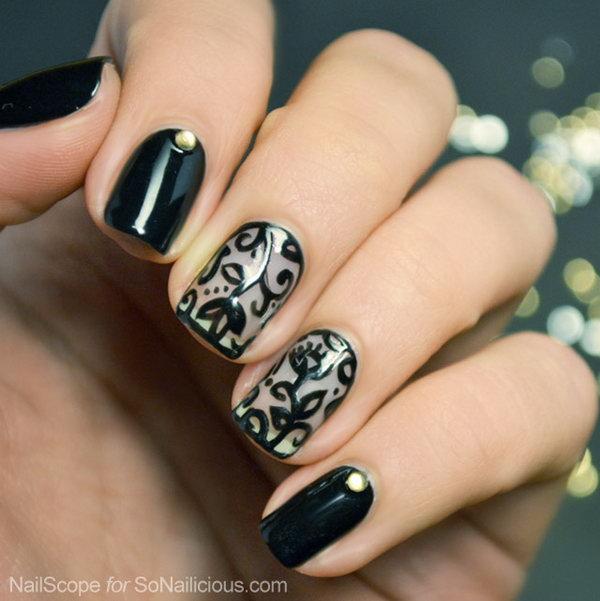 lace nail art 15