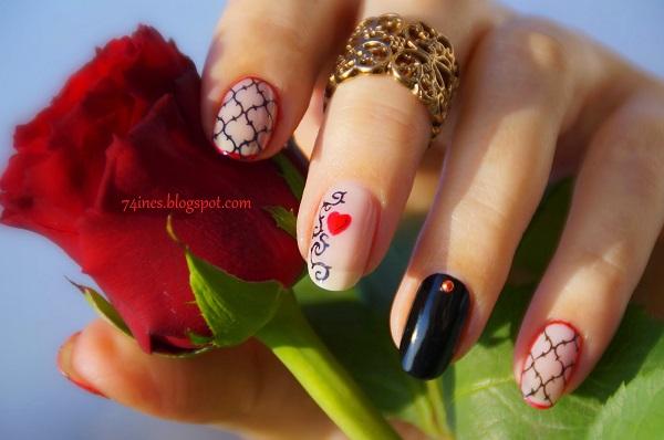 lace nail art 16