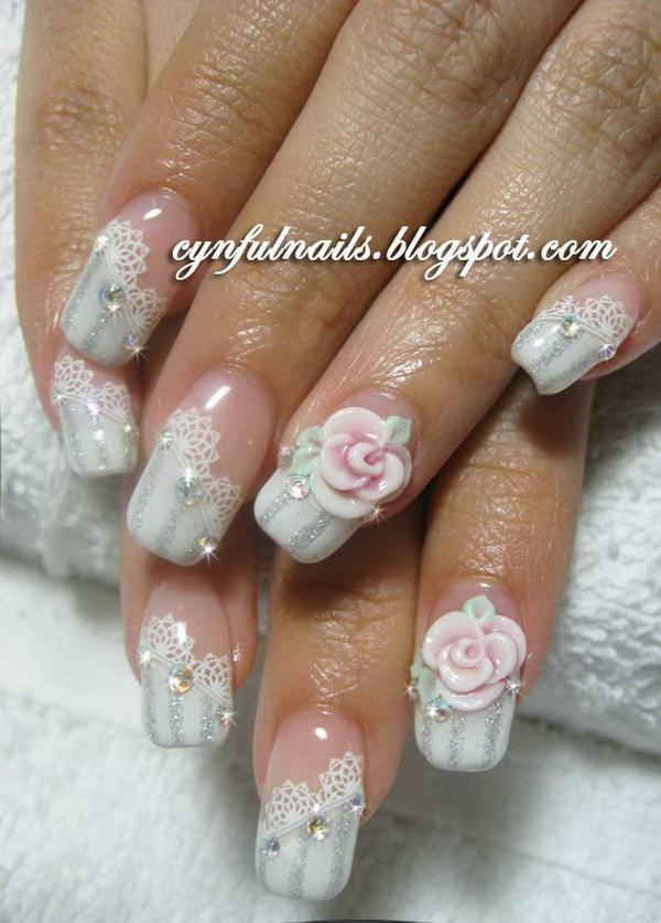 lace nail art 19