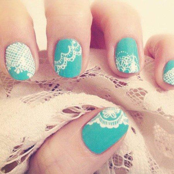 lace nail art 20