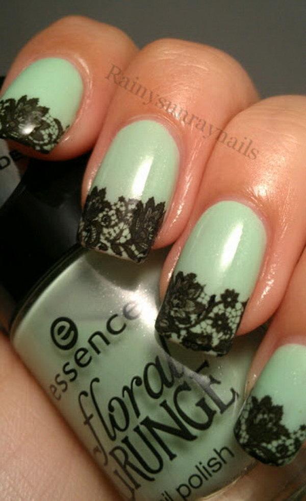 lace nail art 21