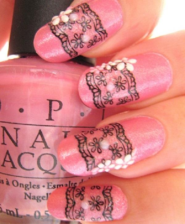 lace nail art 22